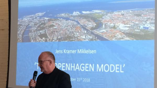 Jens Kramer Mikkelsen speaking of his experience building The Copenhagen Model